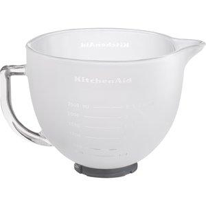 Frostad Skål i Glas 4,83 Liter med Silikonlock