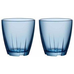 Bruk Tumblerglass Små 2 stk Blå