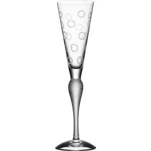 Clown Glass 20cl Frostet sirkel