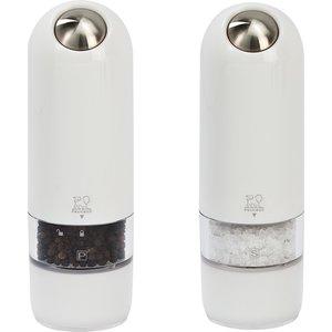 Alaska Duo Elektrisk Salt- & Pepperkvern 17 cm Hvit