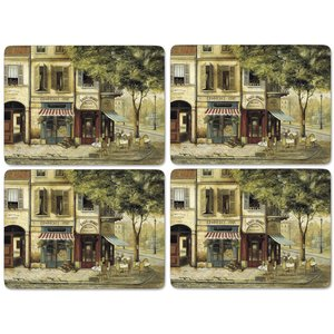 Bordsunderlägg Parisian Scenes Bordsunderlägg 4-pack