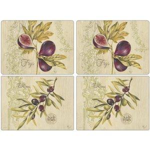 Olives & Figs Bordsunderlägg 4-pack