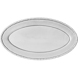 Ovalt Serveringsfat 50 cm White