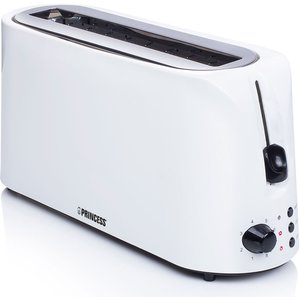 Brödrost Long Slot Toaster Cool White