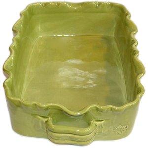 Rektangulær Gratengform Provence Mosegrønn L:39 B:25 H:8 cm