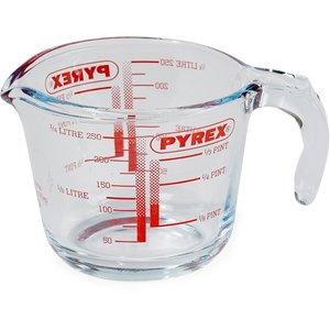 Måttbägare i Glas 0,25 liter
