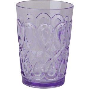Swirly Embossed Tumbler Lavendel