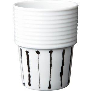 Filippa K Kaffemugg 31 cl Ink Stripe 2 st