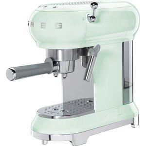 Espressomaskin 50-tals stil pastellgrön