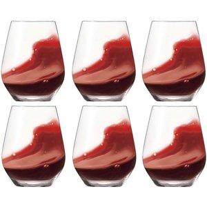 Authentis Casual Rödvinsglas 6-pack