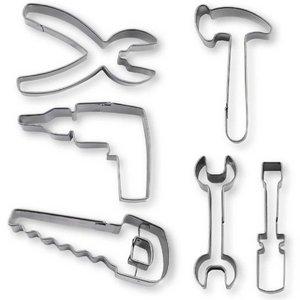 Kageudstikker Værktøj 6 Dele