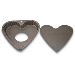 Paiform Hjerte med løs bunn 23 cm