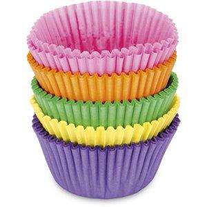 Papirformer Mini Boller/Muffins Fargeglad Miks 100
