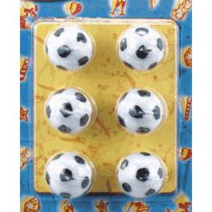 Tårtljus 6 Fotbollar