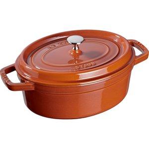 Oval Gryte 29 cm 4,2 liter Cinnamon