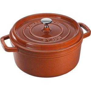 Rund Gryte 22 cm 2,6 liter Cinnamon