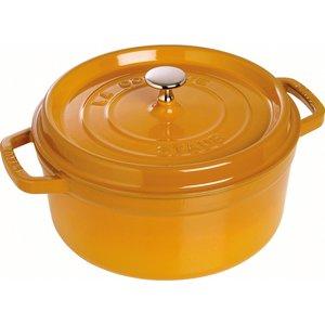 Rund Gryta 24 cm 3,8 liter Mustard