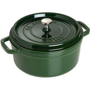 Rund Gryte 26 cm 5,2 liter Basilikumgrønn