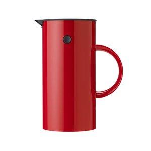 EM Kaffepress 8 koppar - röd