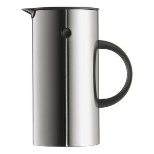 EM Kaffepress 8 koppar - rostfri