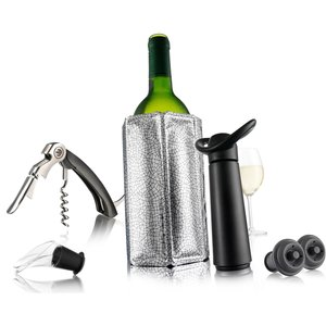 Wine Essentials Gift set Silver