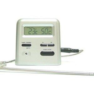 Viking Stektermometer med timer