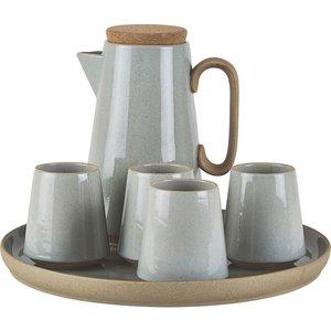 Kaffeset grå
