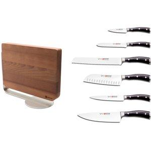Knivsett Classic Ikon 6 deler med Knivblokk