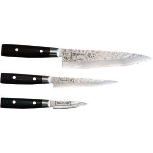 Zen Knivset 3-delar - Kockkniv, Allkniv, Skalkniv