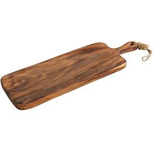 Skärbräda med Handtag Akaciaträ 60 cm