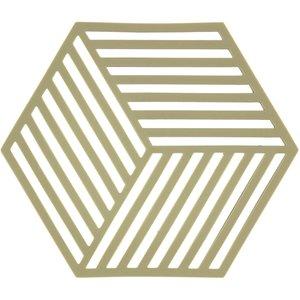 Bordsunderlägg Olive Hexagon