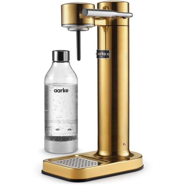 Sodavandsmaskine messing / guld