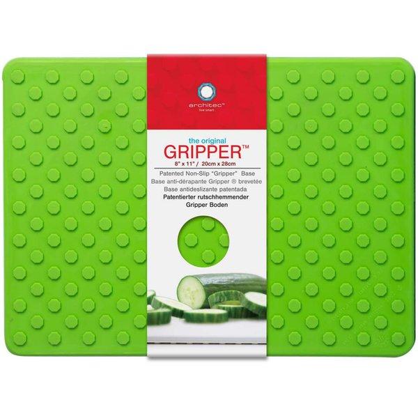 Skärbräda Gripper Grön 28 x 20 cm