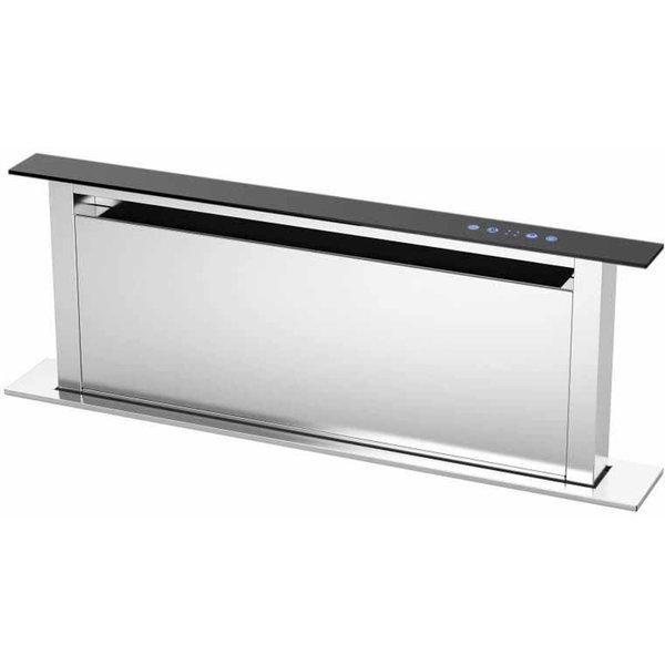 Integrerad Fläktkåpa KDD90XA 90 cm, Design-serien, rostfri