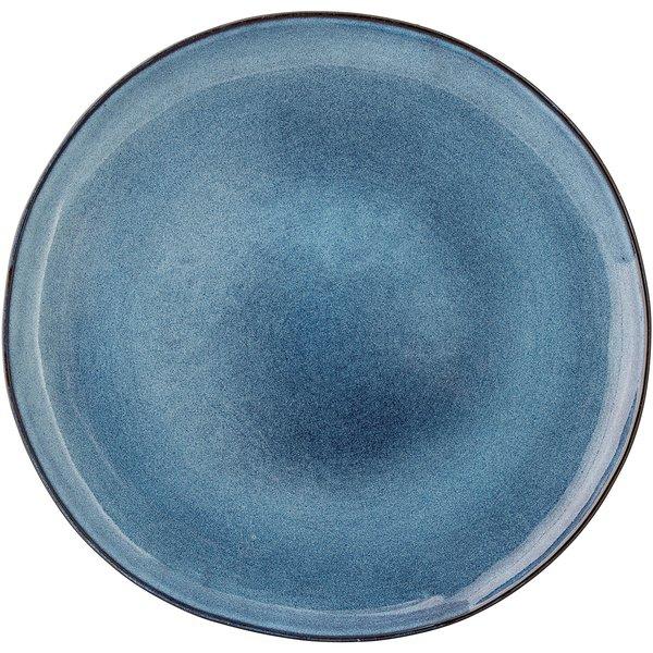 Sandrine tallerken blå