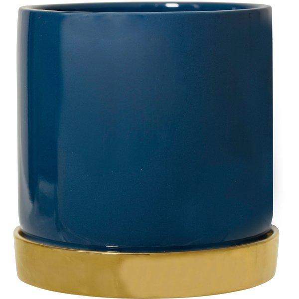 Urtepotteskjuler blå