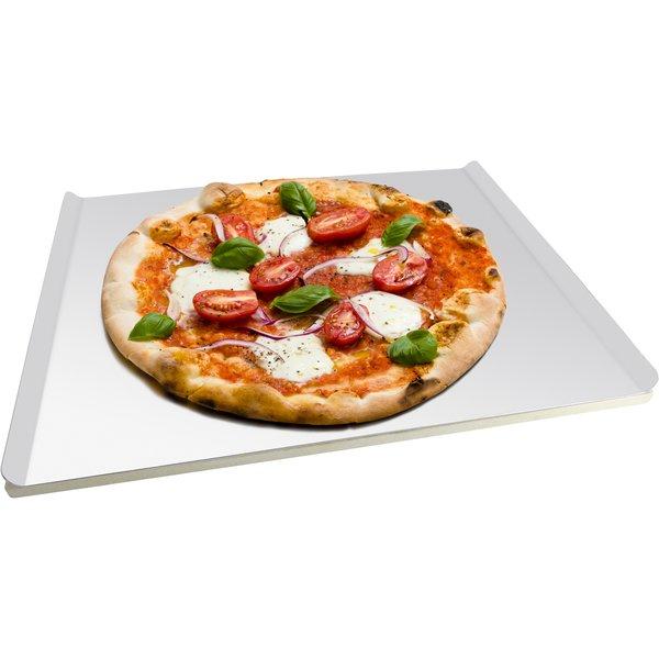 Pizzakivi alumiinisella pellillä