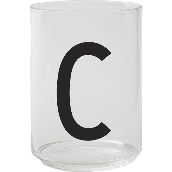 Drikkeglass, C