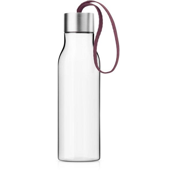 0,5 liter drikkeflaske, vinrød