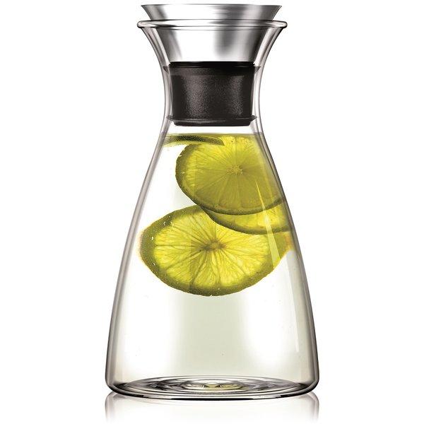 Glasskaraffel med Dryppfri Kant 1 L