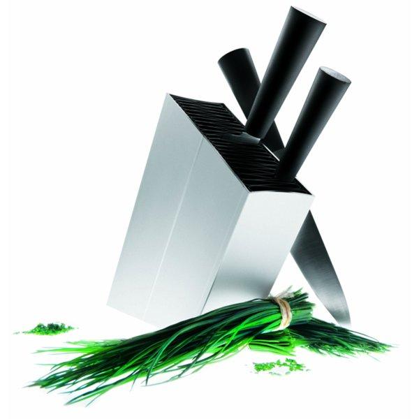 Knivblokk Aluminium