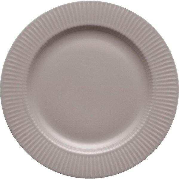Legio Nova Middagstallerken grå