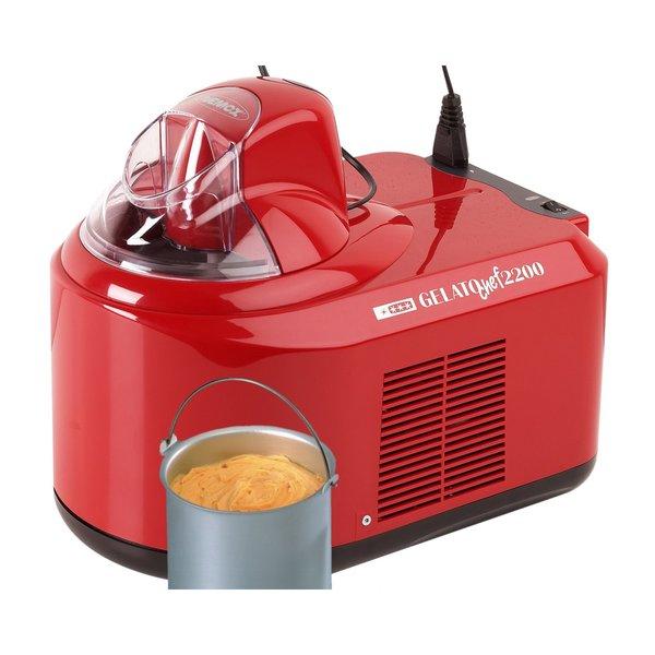 Gelato Chef 2200 Glassmaskin Röd
