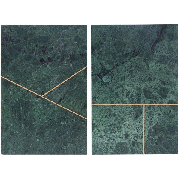 Marmor Platta Grön 20 x30cm