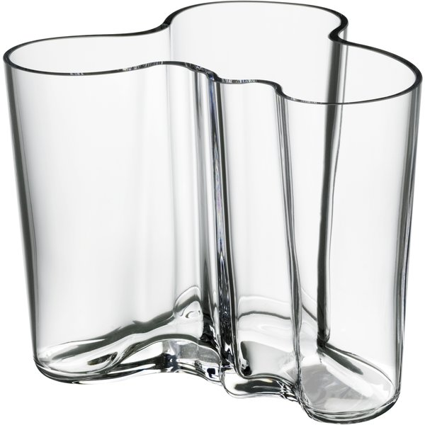 Alvar Aalto Collection Vase 120 mm Klar