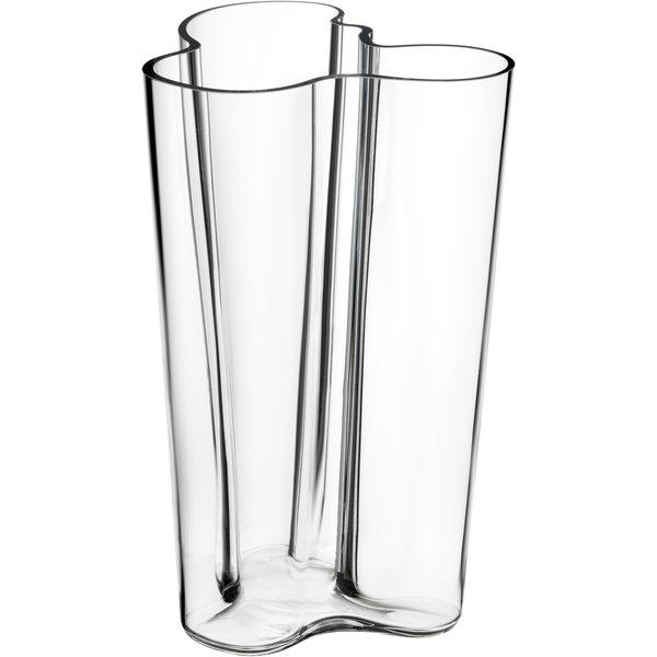 Alvar Aalto Collection Vase 251 mm Klar