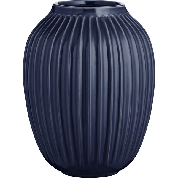 Hammershøi Vase 25 cm Indigo