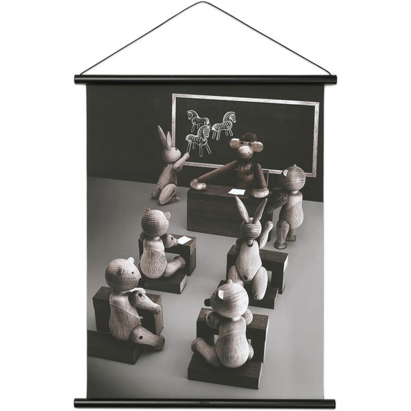 Apa Foto Klassrummet 40x56 cm Svart Profil