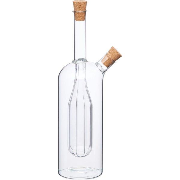World of Flavours Olje och vinägerflaska Integrerad Glas