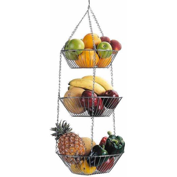 Hængende frugtkurv
